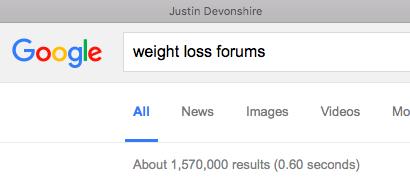 Weight loss ebt