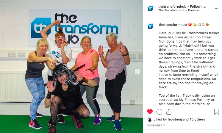 fitness marketing social media